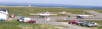 image or airport on aran islands